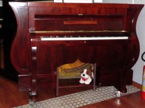 Réplica montada pela Casa do Piano
