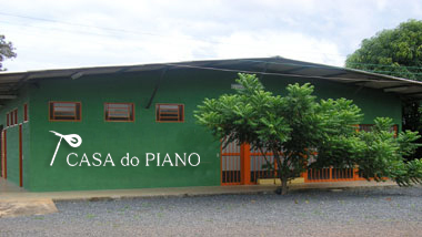 Sede da Casa do Piano em Brasília-DF