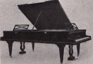 Piano duplo foto original