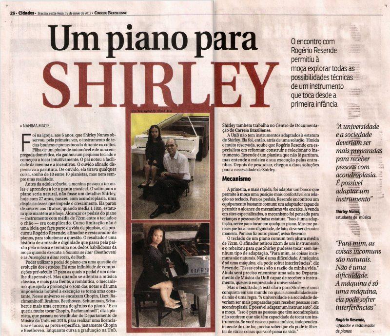 Shirley e a conquista de acessibilidade
